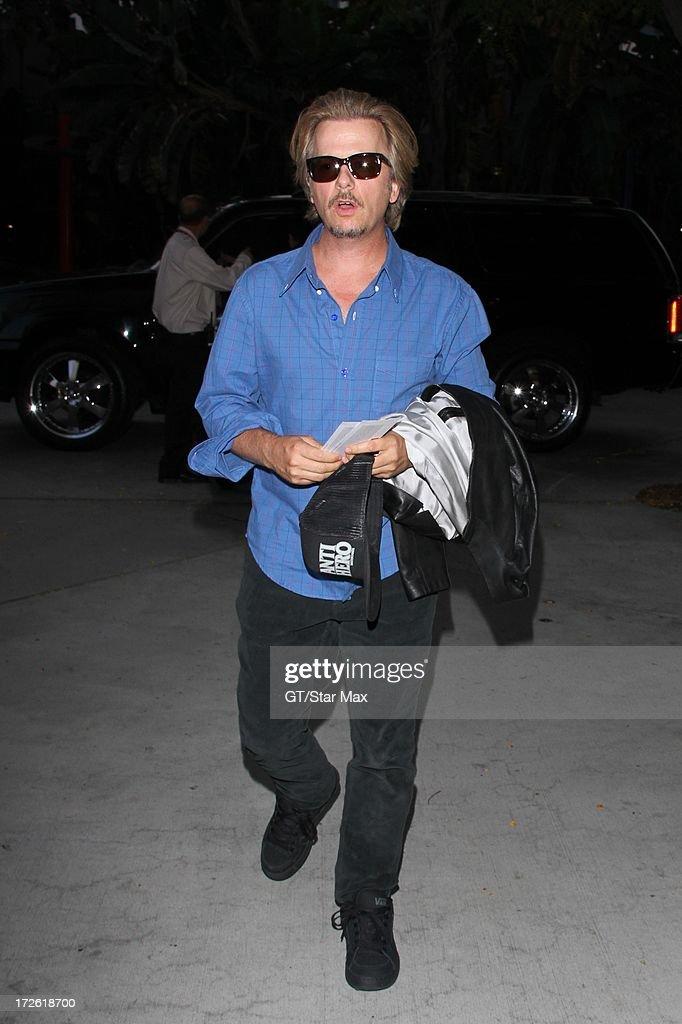 David Spade as seen on July 3, 2013 in Los Angeles, California.