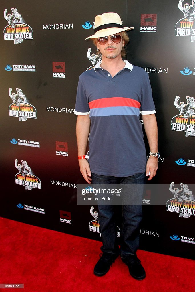 David Spade attends the 9th annual Tony Hawk Stand Up For Skateparks Benefit held at Ron Burkle's Green Acres Estate on October 7, 2012 in Beverly Hills, California.