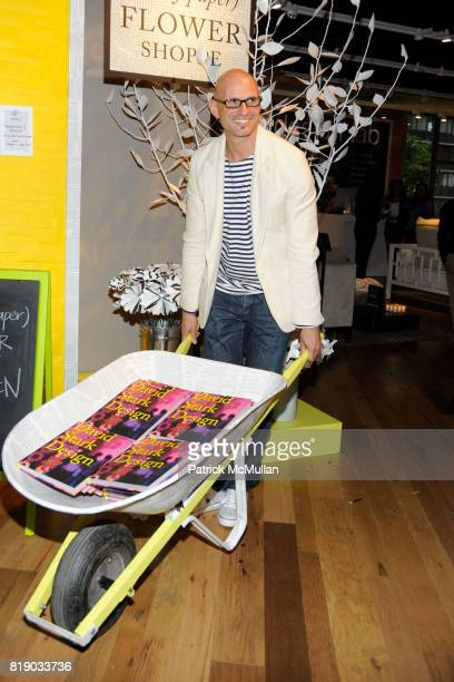 David Stark attends DAVID STARK and West Elm preview party for The Flower Shoppe and celebration of his new book DAVID STARK DESIGN at West Elm on...