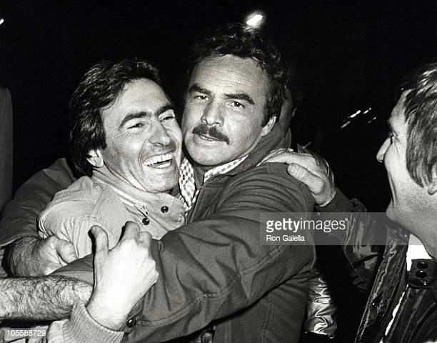 David Steinberg and Burt Reynolds during Filming of 'Eternity' at On Set of 'Eternity' in New York City New York United States