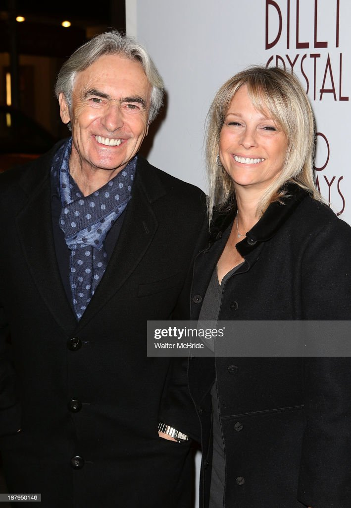 David Steinberg and Robyn Steinberg attend the 'Billy Crystal - 700 Sundays' Broadway Opening Night at the Imperial Theatre on November 13, 2013 in New York City.