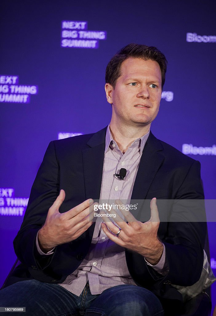 David Steinberger, chief executive officer and co-founder of comiXolog, speaks at the Bloomberg Next Big Thing Summit in New York, U.S., on Monday, Sept. 16, 2013. The conference convenes the most influential investors and industry leaders in innovation and science to explore the great frontiers of how technology is changing the way we live, work, and interact. Photographer: Michael Nagle/Bloomberg via Getty Images