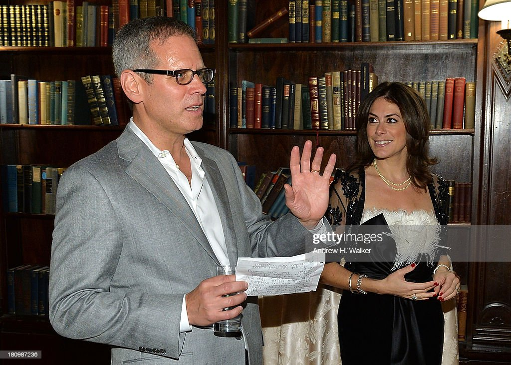 David Steinberger, President of Perseus Book Group and author Katie Nicholl attend the 'Kate: The Future Queen launch party on September 18, 2013 in New York City.