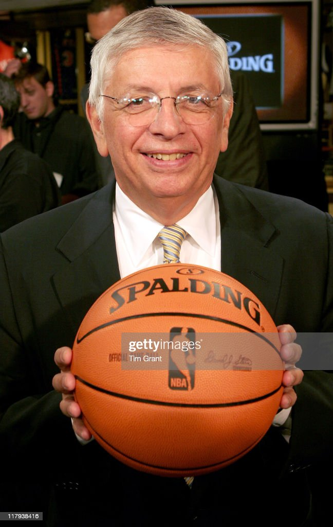 <a gi-track='captionPersonalityLinkClicked' href=/galleries/search?phrase=David+Stern&family=editorial&specificpeople=206848 ng-click='$event.stopPropagation()'>David Stern</a> at a news conference to unveil the new NBA ball at the NBA Store in New York City, New York on June 28, 2006