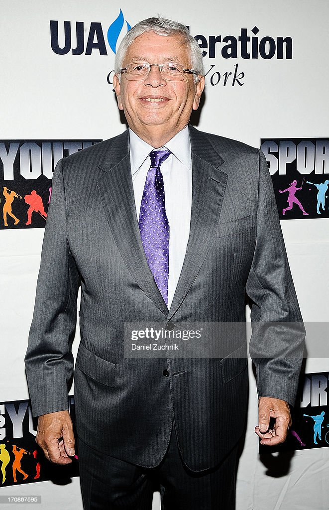 <a gi-track='captionPersonalityLinkClicked' href=/galleries/search?phrase=David+Stern&family=editorial&specificpeople=206848 ng-click='$event.stopPropagation()'>David Stern</a> attends UJA-Federation Of New York's Sports for Youth Luncheon at The Roosevelt Hotel on June 19, 2013 in New York City.