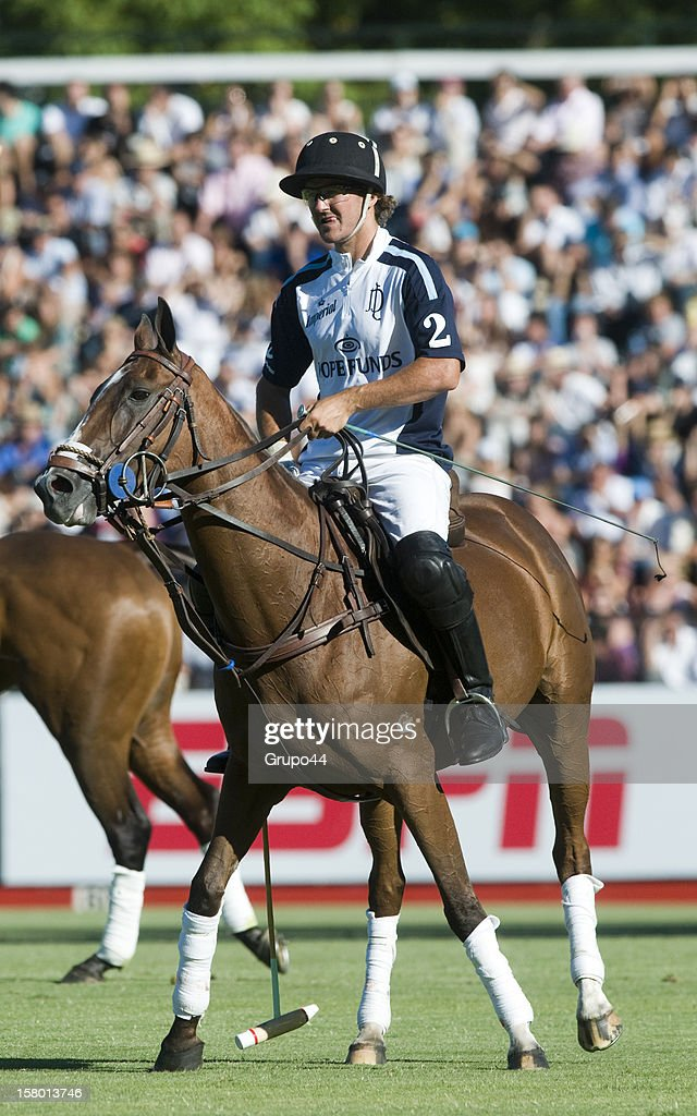 David Stirling of La Dolfina in action during a polo match between La Dolfina and Ellerstina as part of the 119th Argentina Open Polo Championship Final on December 08, 2012 in Buenos Aires, Argentina.
