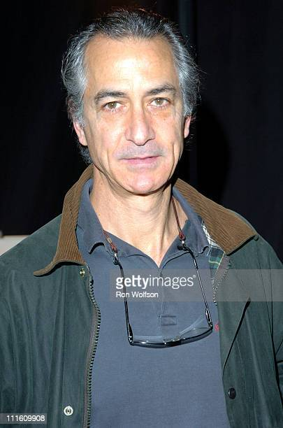 David Strathairn during 12th Annual Screen Actors Guild Awards Rehearsal at Shrine Expo Hall in Los Angeles California United States
