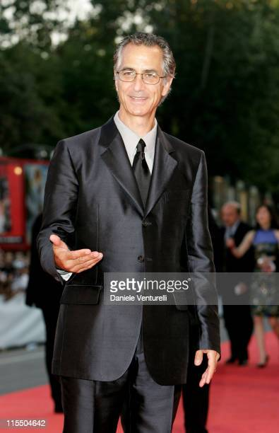 David Strathairn during 2005 Venice Film Festival Closing Ceremony Red Carpet at Palazzo del Cinema in Venice Lido Italy