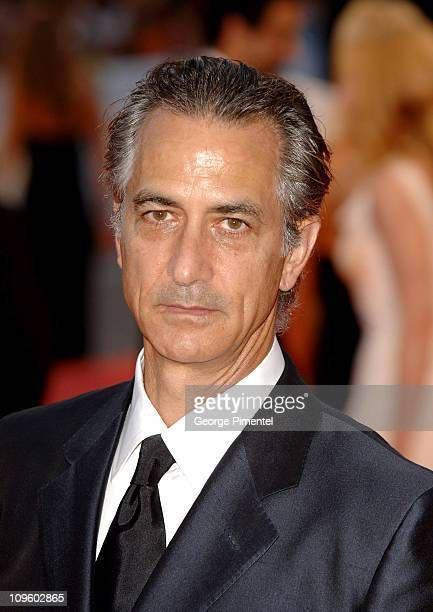 David Strathairn during 2005 Venice Film Festival 'Good Night and Good Luck' Premiere at Palazzo del Cinema in Venice Lido Italy