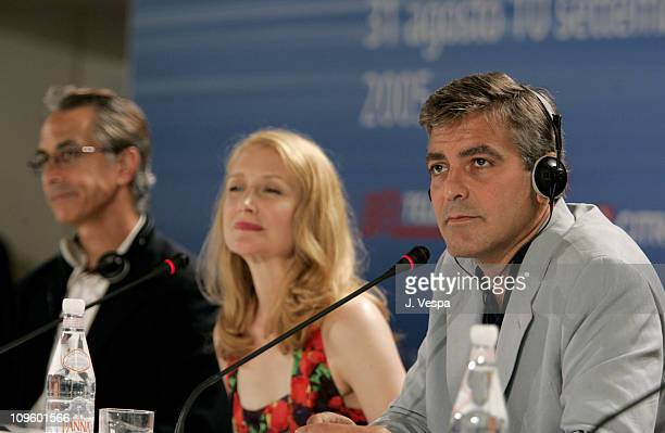 David Strathairn Patricia Clarckson and George Clooney director
