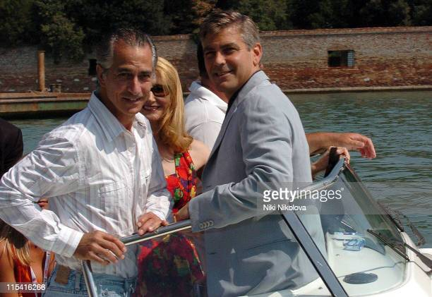 David Strathairn Patricia Clarkson and George Clooney