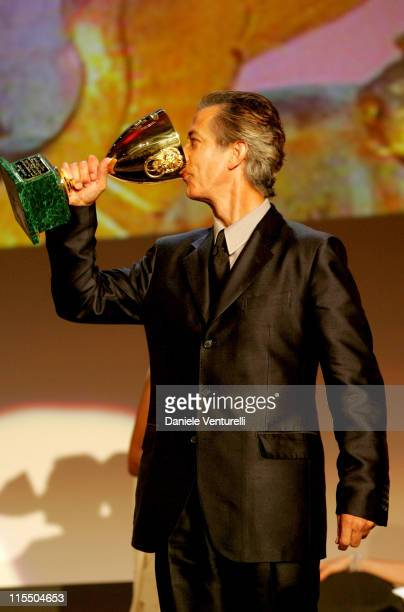 David Strathairn winner of the Coppa Volpi as Best Actor for his performance in George Clooney's 'Good Night and Good Luck'