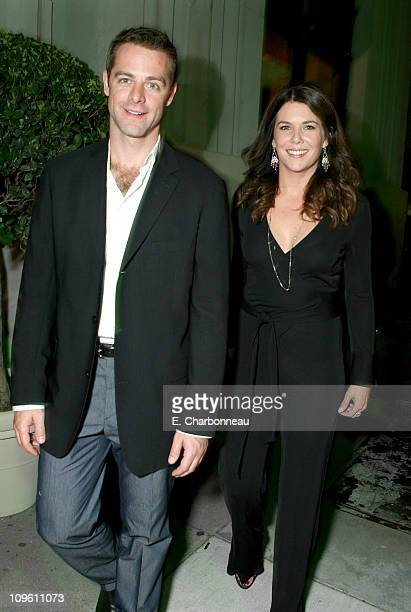 David Suttcliffe and Lauren Graham during The CW Launch Party Inside at WB Main Lot in Burbank California United States