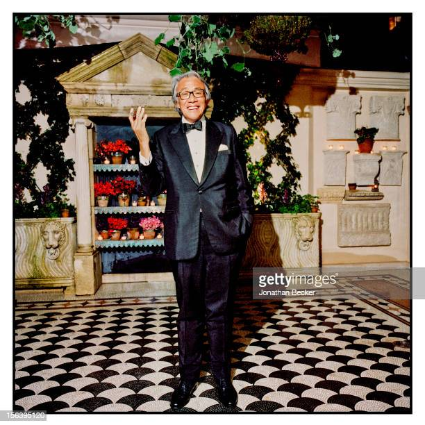 David Tang is photographed at 5 Hertford Street which is home to the nightclub Loulou's for Vanity Fair Magazine on June 11 2012 in London England...