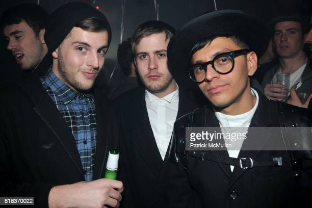 David Tarasenko Derek Durand and Lester Garcia attend BUTT MAGAZINE's Valentine's Day Party Hosted by LORENZO MARTONE at Rush on February 14 2010 in...