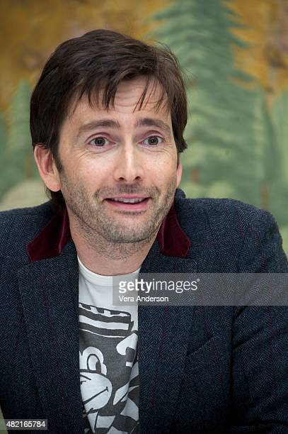 David Tennant at the 'Jessica Jones' Press Conference at The London Hotel on July 25 2015 in New York City