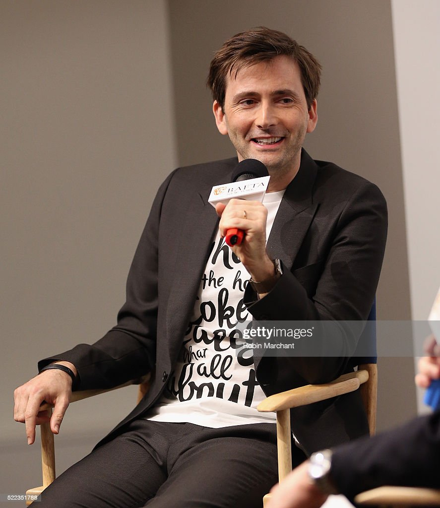 David Tennant attends BAFTA New York With Tribeca Shortlist Hosts 'In Conversation With David Tennant' on April 18 2016 in New York City