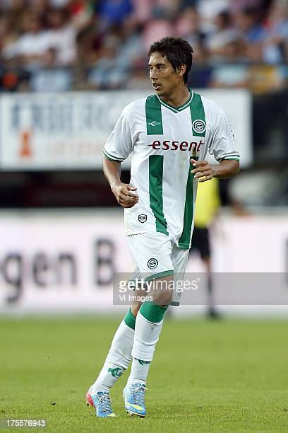 David Texeira of FC Groningen during the Dutch Eredivisie match between NEC Nijmegen and FC Groningen on August 3 2013 at the Goffert stadium in...