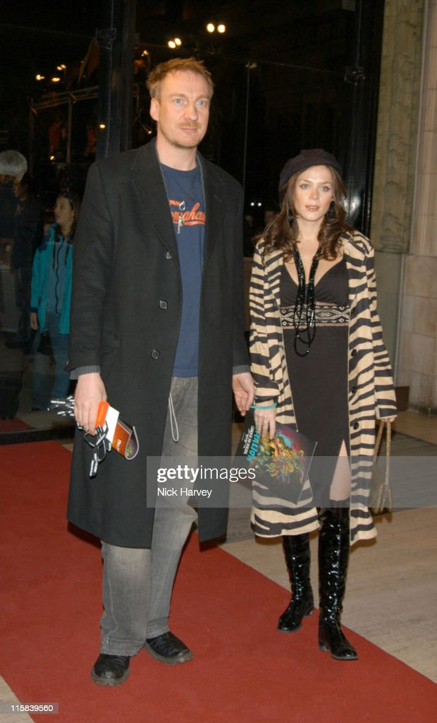David Thewlis and girlfriend Anna Friel during Cirque du Soleil's 20th Anniversary of 'Dralion' Arrivals at The Royal Albert Hall in London Great...