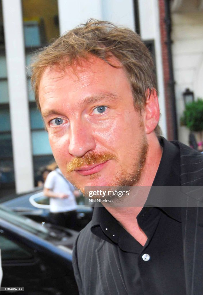 David Thewlis during Prince's Trust Summer Ball Outside Arrivals July 6 2006 at Berkeley Square in London Great Britain