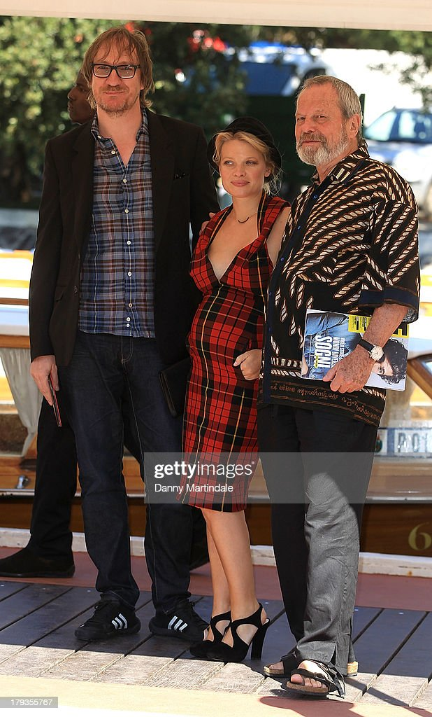 David Thewlis Melanie Thierry and Terry Gilliam attend day 6 of the 70th Venice International Film Festival on September 2, 2013 in Venice, Italy.
