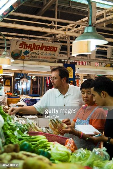 David Thompson at Or Tor Kor Market a fresh food market on the outskirts of Bangkok Thompson an Australian native is widely regarded as the world's...