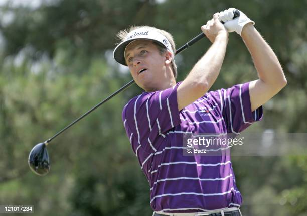 David Toms during the second round of the 2005 US Open Golf Championship at Pinehurst Resort course 2 in Pinehurst North Carolina on June 17 2005