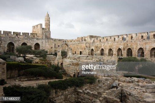 David Tower, Old Jerusalem
