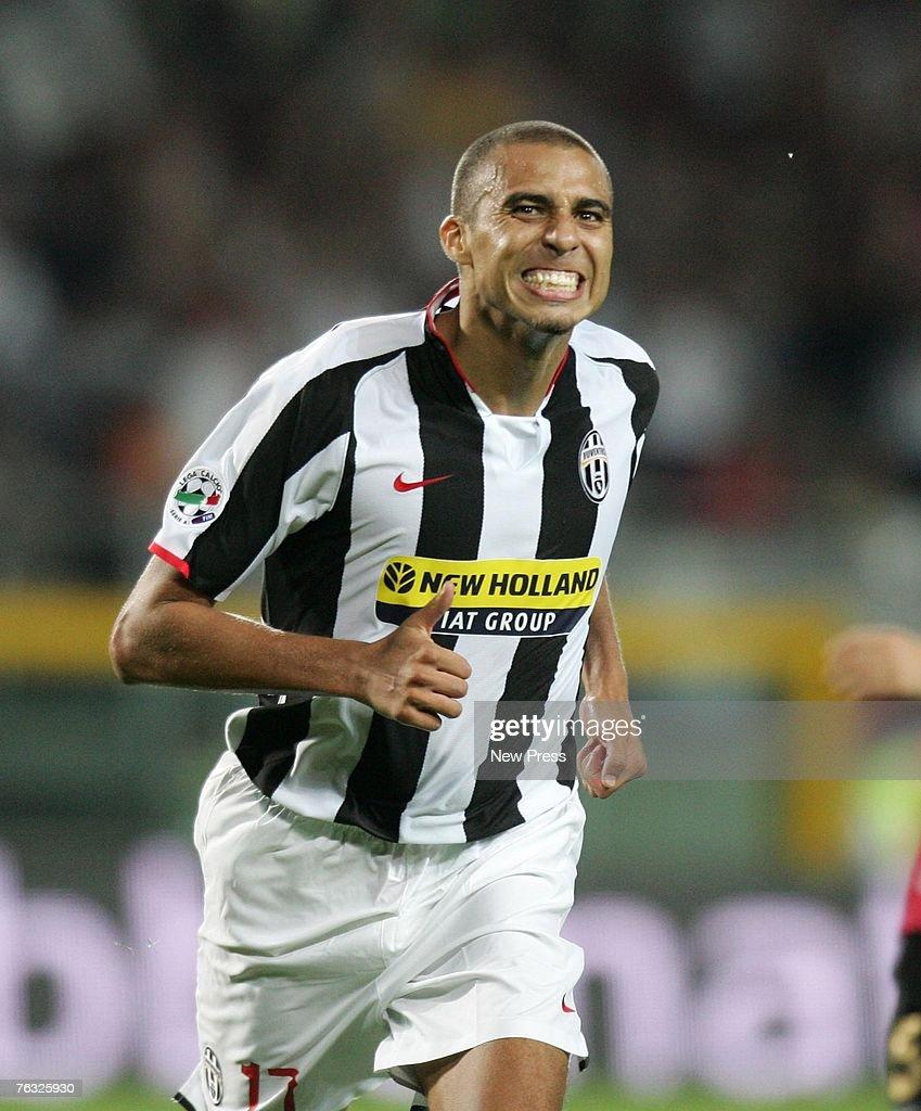 Juventus v livorno getty images for David trezeguet
