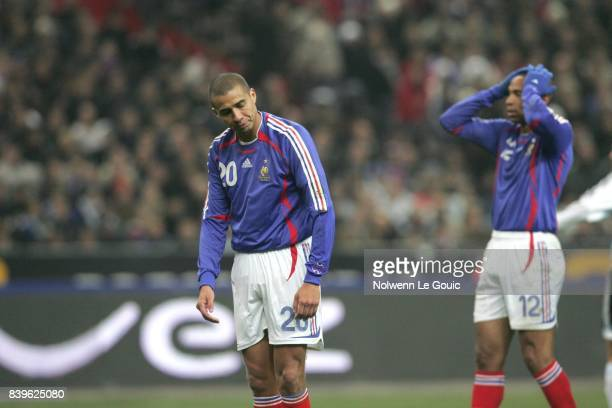 David TREZEGUET / Thierry HENRY France / Argentine Match amical Stade de France Saint Denis
