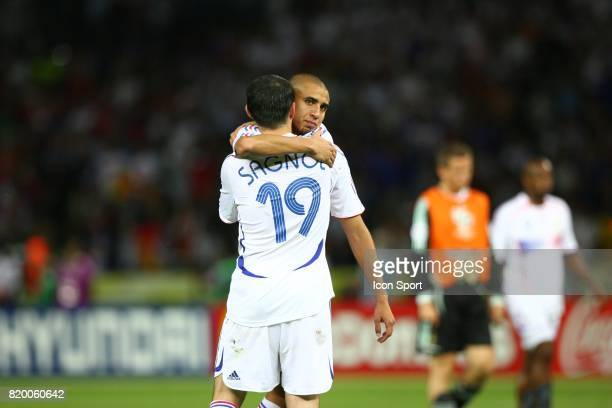 David TREZEGUET / Willy SAGNOL France / Italie Finale Coupe du Monde 2006 Berlin Allemagne