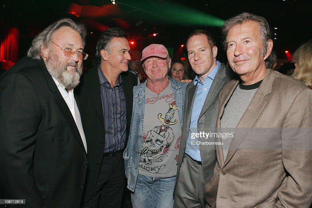 David Tuckerman of New Line Russell Schwartz Tony Scott director Toby Emmerich of New Line and Bob Shaye
