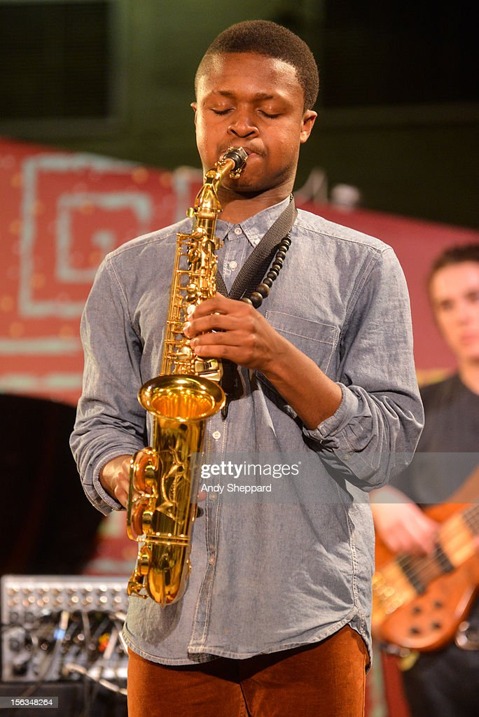 David Turay of the band Psylus performs on stage during the London Jazz Festival 2012 on November 13, 2012 in London, United Kingdom.