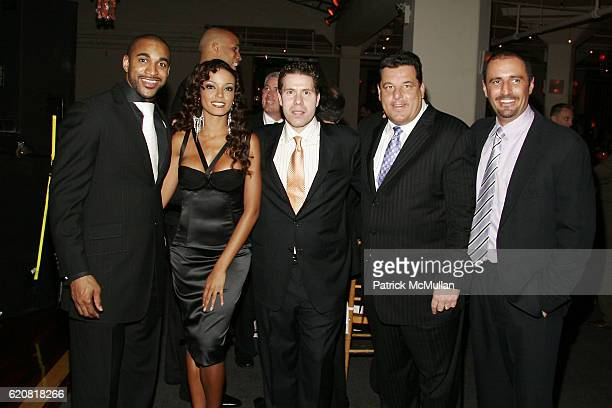 David Tyree Selita Ebanks Rocco Basile Steve Schirripa and Guest attend CHILDREN OF THE CITY GALA Honoring DAVID TYREE and Hosted by RICHARD...
