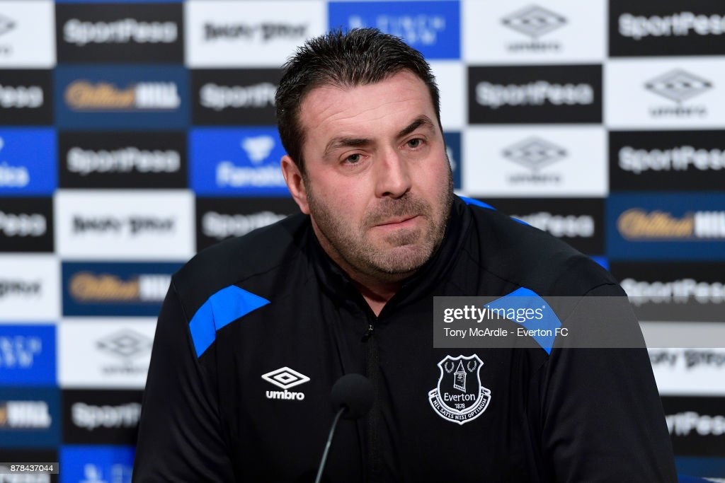 Everton Press Conference