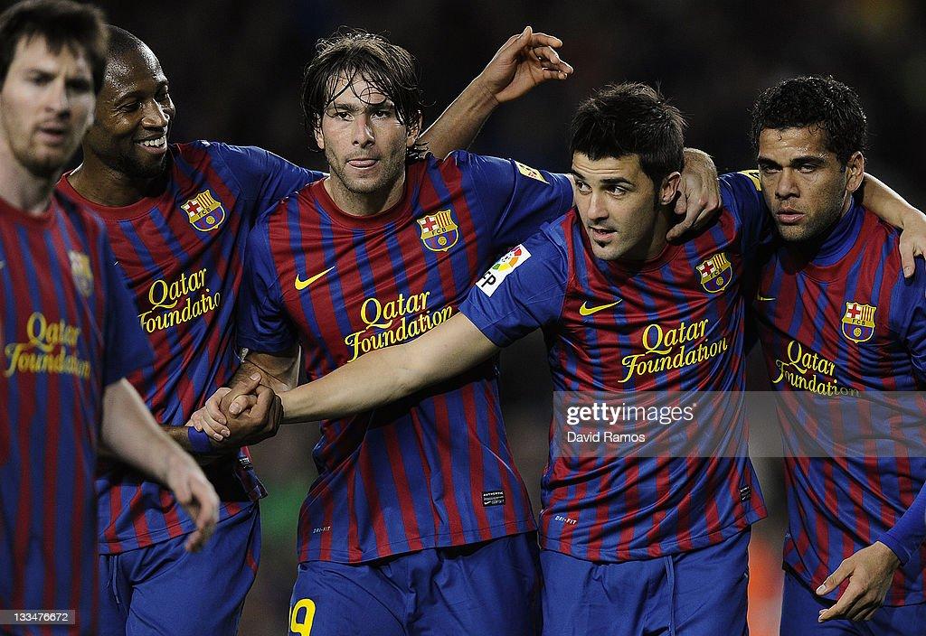 FC Barcelona v Real Zaragoza  - Liga BBVA