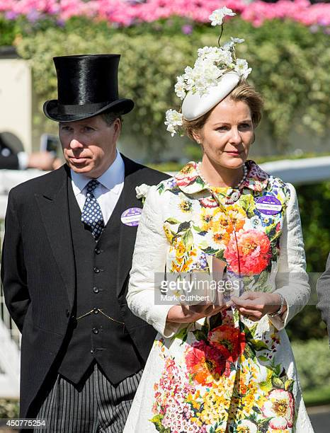 David Viscount Linley and Serena Viscountess Linley attend Day 1 of Royal Ascot at Ascot Racecourse on June 17 2014 in Ascot England