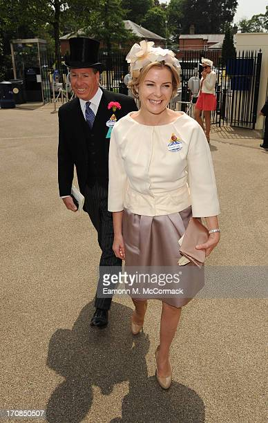 David Viscount Linley and Serena Viscountess Linley attend Day 2 of Royal Ascot at Ascot Racecourse on June 19 2013 in Ascot England