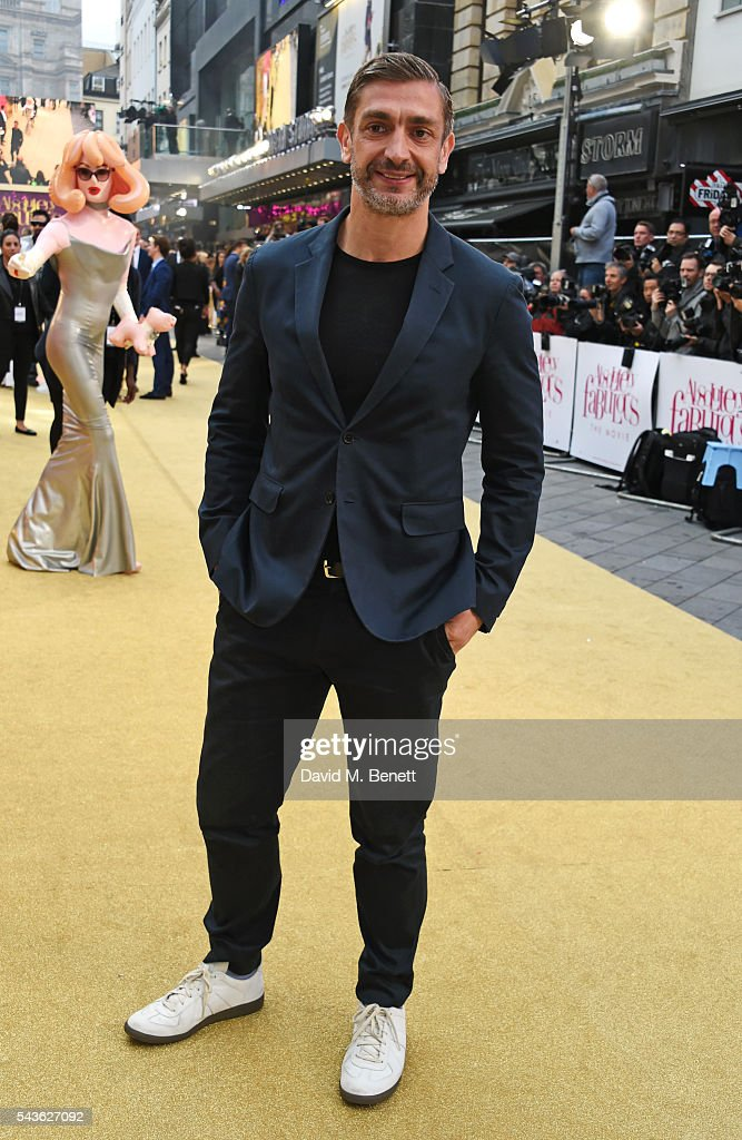 David Waddington attends the World Premiere of 'Absolutely Fabulous: The Movie' at Odeon Leicester Square on June 29, 2016 in London, England.