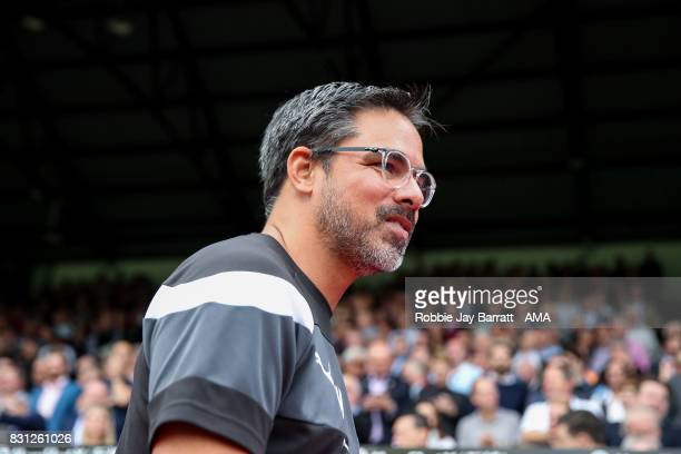 David Wagner head coach / manager of Huddersfield Town during the Premier League match between Crystal Palace and Huddersfield Town at Selhurst Park...