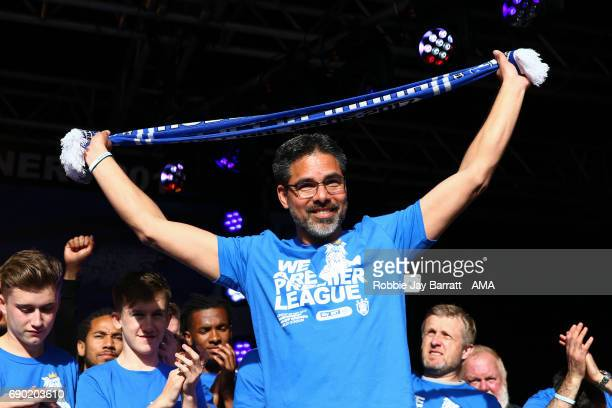 David Wagner head coach / manager of Huddersfield Town on May 30 2017 in Huddersfield England