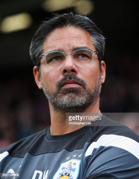 David Wagner Manage of Huddersfield Town looks on during the Premier League match between Crystal Palace and Huddersfield Town at Selhurst Park on...