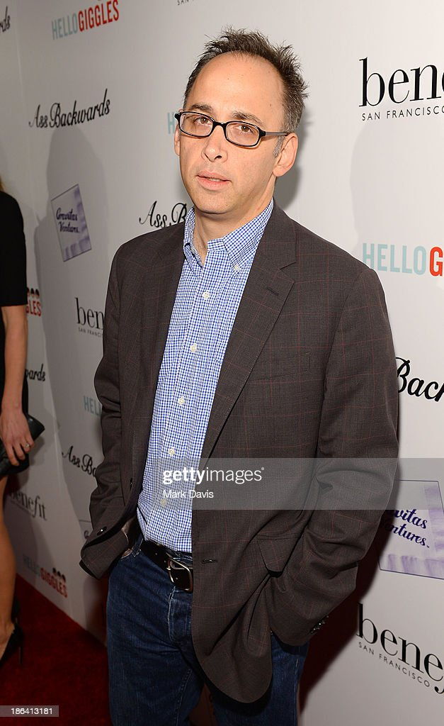 <a gi-track='captionPersonalityLinkClicked' href=/galleries/search?phrase=David+Wain&family=editorial&specificpeople=5582688 ng-click='$event.stopPropagation()'>David Wain</a> attends the premiere of Gravitas Ventures' 'Ass Backwards' at the Vista Theatre on October 30, 2013 in Los Angeles, California.