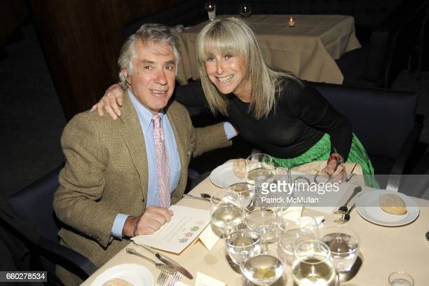 David Walentas and Jane Walentas attend ENRIQUE NORTEN Private Dinner Celebrating the 25th Anniversary of TEN ARQUITECTOS at The Four Seasons...
