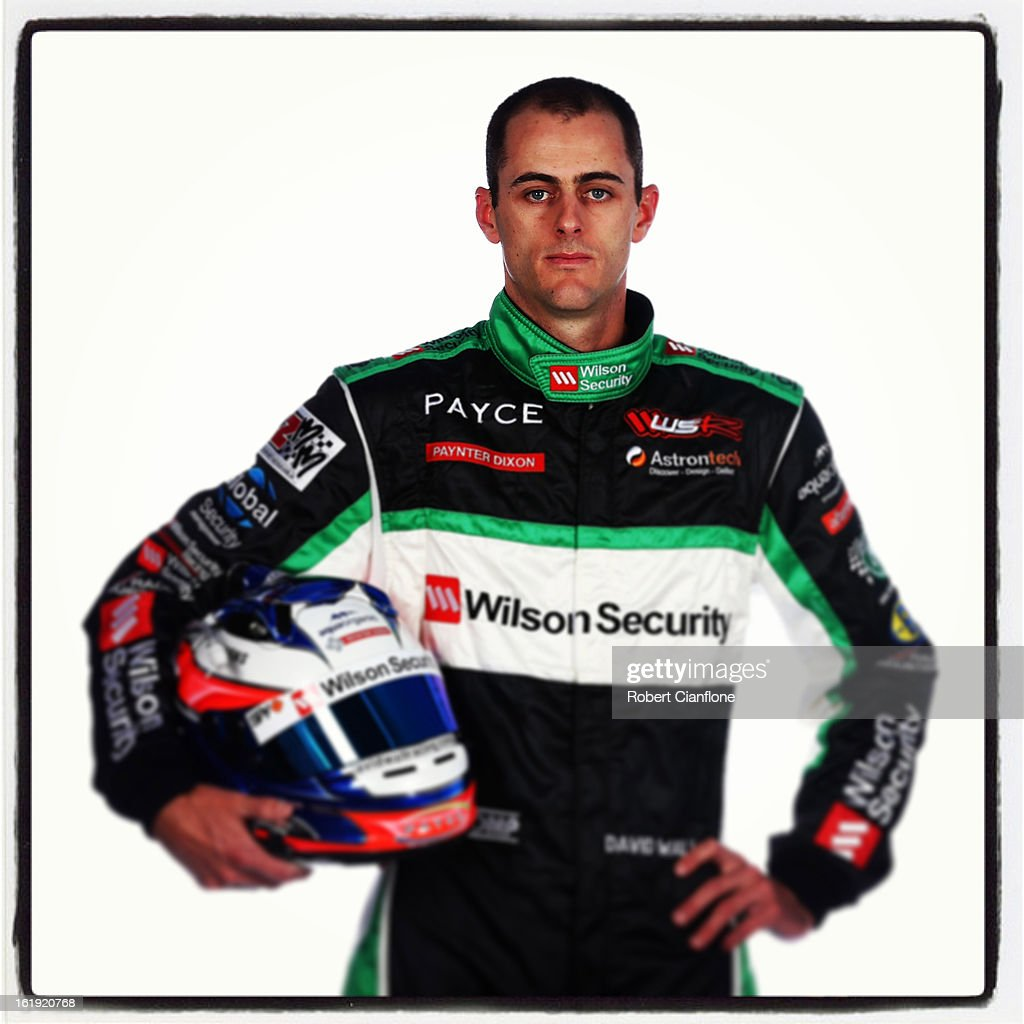 David Wall of Brad Jones Racing poses during a V8 Supercars driver portrait session at Eastern Creek on February 15, 2013 in Sydney, Australia.