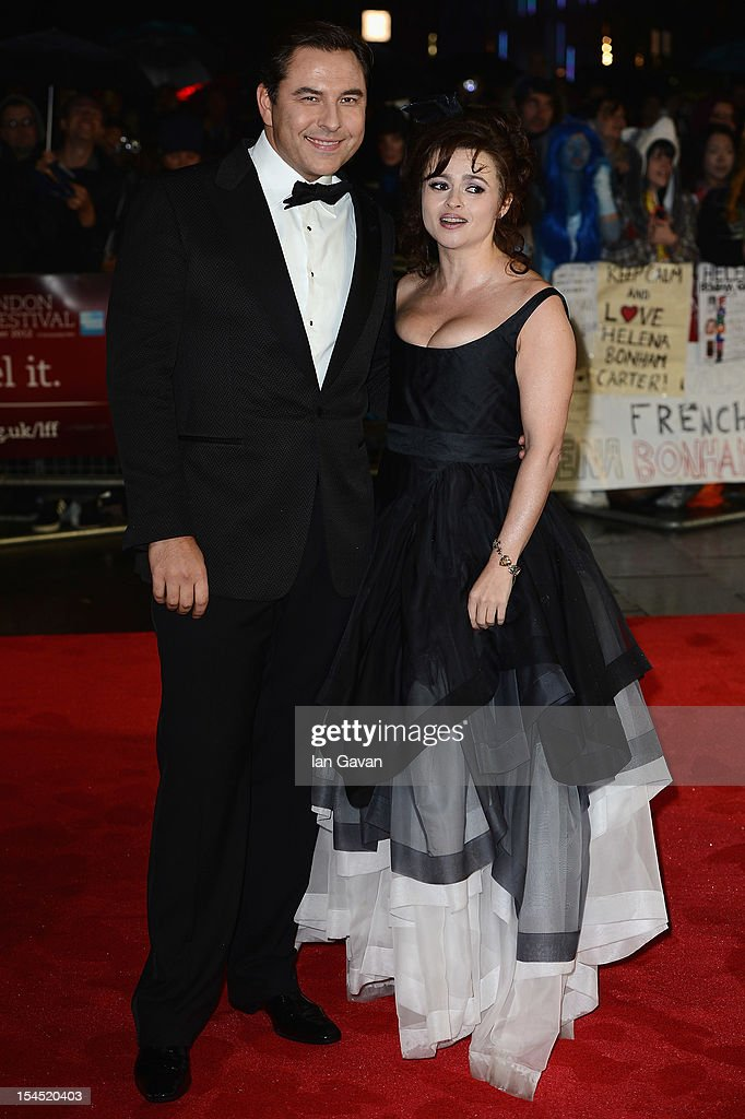 David Walliams and Helena Bonham Carter attend the Closing Night Gala of 'Great Expectations' during the 56th BFI London Film Festival at Odeon Leicester Square on October 21, 2012 in London, England.