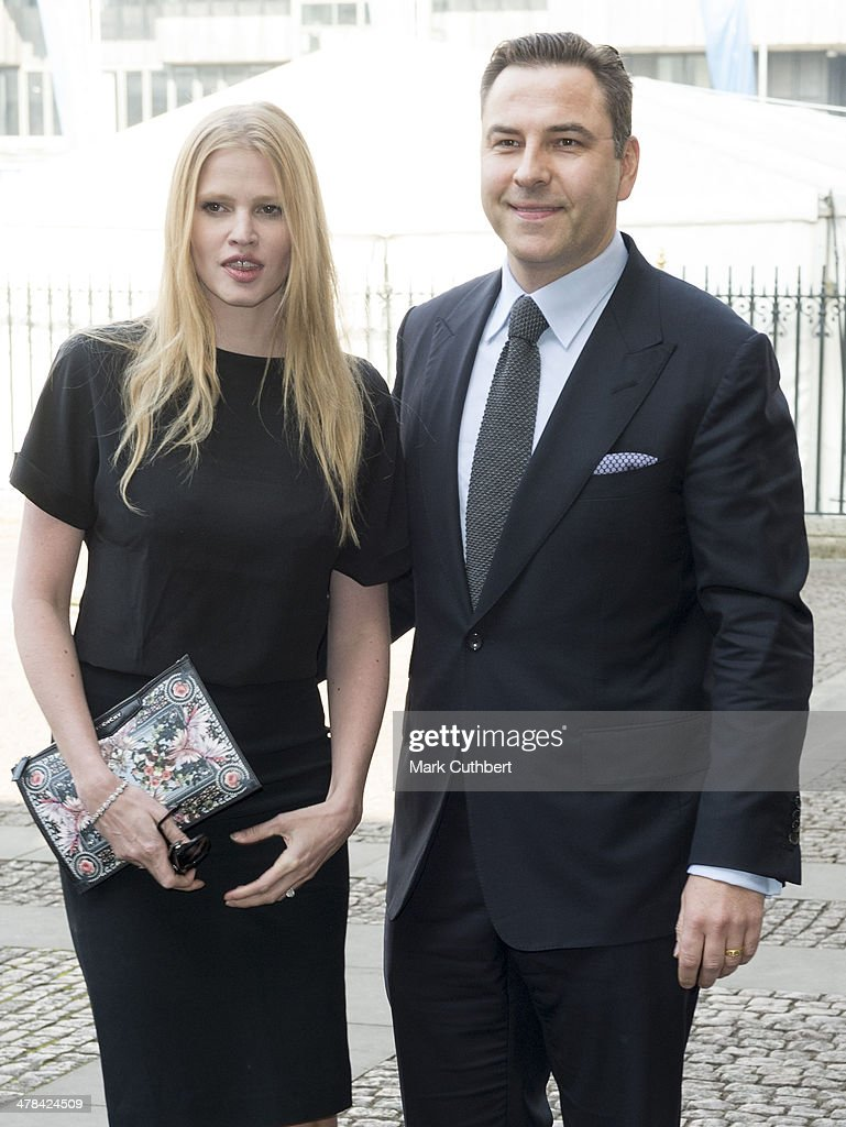 <a gi-track='captionPersonalityLinkClicked' href=/galleries/search?phrase=David+Walliams&family=editorial&specificpeople=203020 ng-click='$event.stopPropagation()'>David Walliams</a> and <a gi-track='captionPersonalityLinkClicked' href=/galleries/search?phrase=Lara+Stone&family=editorial&specificpeople=4340962 ng-click='$event.stopPropagation()'>Lara Stone</a> attend a memorial service for Sir David Frost at Westminster Abbey on March 13, 2014 in London, England.