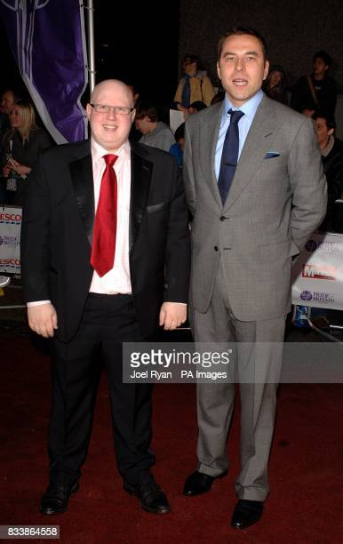 David Walliams and Matt Lucas arrive for the Pride of Britain Awards 2007 The London Studios Upper Ground London SE1