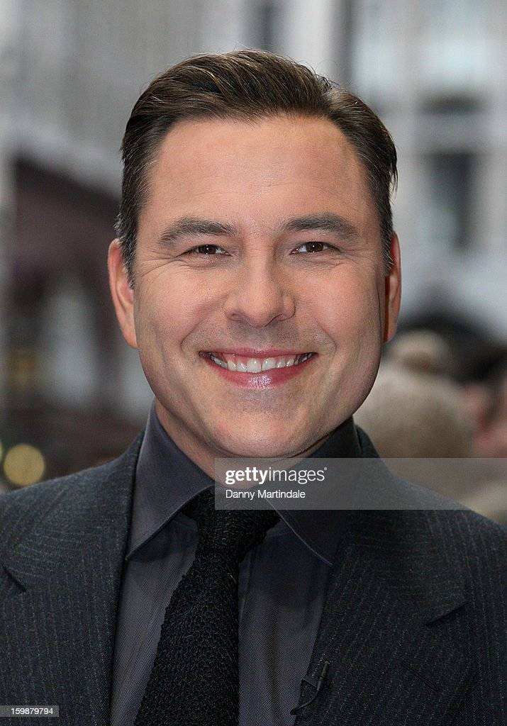 <a gi-track='captionPersonalityLinkClicked' href=/galleries/search?phrase=David+Walliams&family=editorial&specificpeople=203020 ng-click='$event.stopPropagation()'>David Walliams</a> arrives for auditions for Britain's Got Talent at London Palladium on January 22, 2013 in London, England.