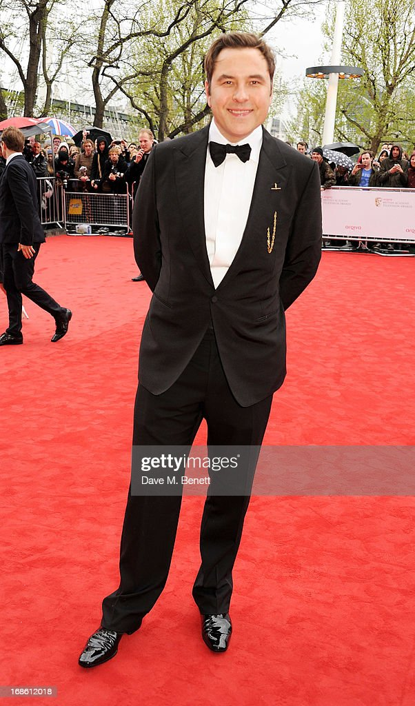 David Walliams attends the Arqiva British Academy Television Awards 2013 at the Royal Festival Hall on May 12, 2013 in London, England.